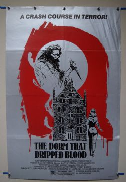 Dorm That Dripped Blood (1971) Horror Poster - US One Sheet